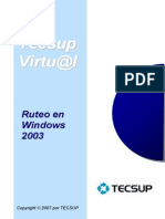 15-Ruteo en Windows 2003