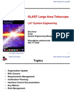 GLAST Large Area GLAST Large Area Telescope: