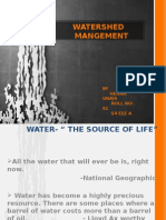 water shed management.pptx