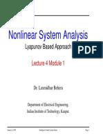 Non Linear Systems