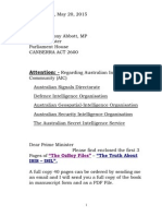 Letter to Tony Abbott 4