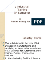 Industrial Training Ppt