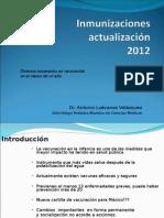 INMUNIZACIONES ACTUALIZACION 2012