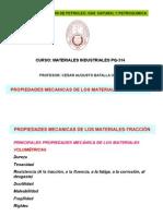 Propiedadesmecanicas Materiales -Tracciòn