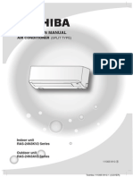 Installation Manual for Indoor Unit-Toshiba