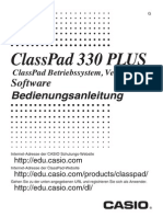 Manual Casio Classpad 330 plus