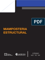 NEC SE MP (Mamposteria Estruc)
