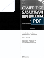 Cambridge CPE - Certificate of Proficiency in English 2