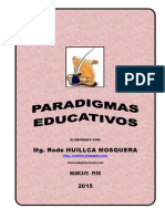 Paradigmas Educativos Rode Huillca Mosquera