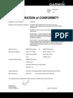 nuvi1450_DeclarationofConformity