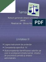 Notiuni Gen. Despre Proces Penal