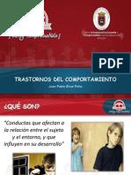 Trastornos Del Comportamiento-Juan Pablo Ahud Peña