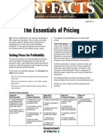 1. the Essentials of Pricing