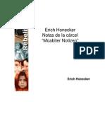 Notas de la cárcel (Erich Honecker)