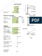 124631345 Load Calculations Single Sided Frame