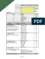 CRG Score Sheet By Asad