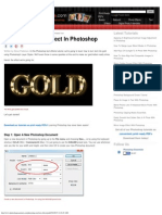 Gold Plated Text Effect In Photoshop.pdf
