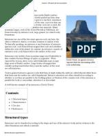 Volcanic Landforms- Intrusion -- Wikipedia