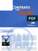 Mi Contrato con Puebla | Rafael Moreno Valle