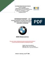 bmw motorade- internship training report munic bmw