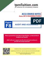 ACCA F8 Slides