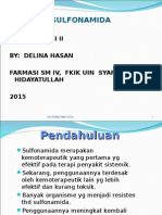 Farmakologi Sulfonamida- Dh 2015