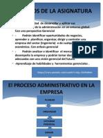 Organización y Gerencia