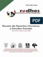 Revista de derechos humanos y estudios sociales. Ano VI numero 11 enero - junio 2014
