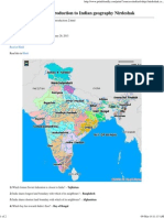 Indian Geography – Introduction 2