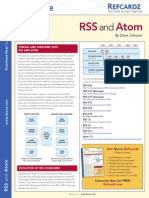 rss and atom refcard