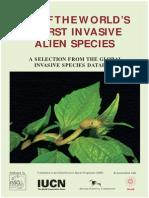 IUCN Invaders