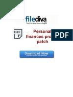 Personal Finances Pro 5 7 Patch