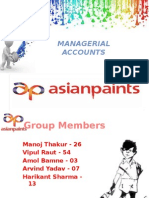 Asian Paint - Final