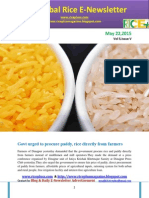 22nd May,2015 Daily Global Rice E-Newsletter by Riceplus Magazine