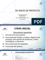 4. Ejercicio de Inicio Del Proyecto