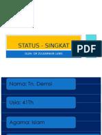Status - Singkat Neuro-BedahPP