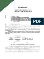 L4  - Verificari metrologice