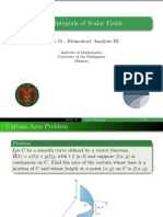 13Line Integrals of Scalar Fields - Handout