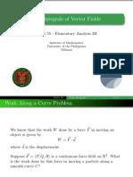 14 Line Integrals of Vector Fields - Handout