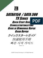 Sata TX Series Qsg v1.5