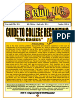 AVCSS Basketball Recruiting Guide 4th Edition 2014