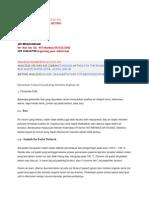 Analisis Parameter kualitas Air