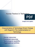 Human Factors in Technology
