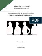 Contributos Para a Implementação Da Enfermagem Forense Em Portugal