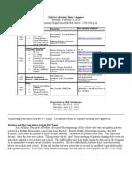 District Advisory Board Agenda Monday, February 8,