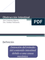 Diapos Finales Obstruccion Intest