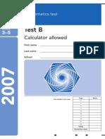 2007 Maths B