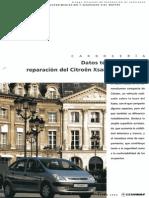 Datos Técnicos Para La Reparación Del Citroen Xsara Picasso