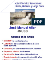 Crisis Sistema Electrico - Jose Manuel Aller