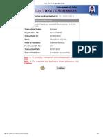 SSC - PART-II Registration Contd.